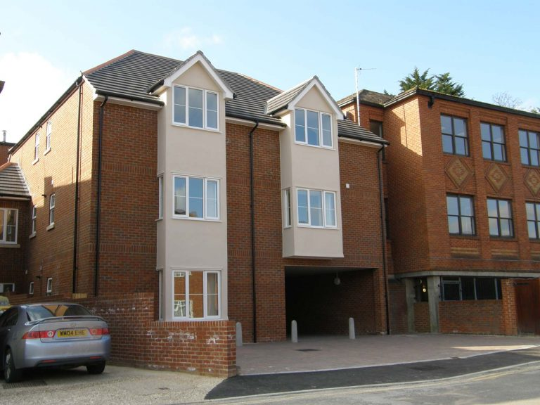 Chapel Court Housing Development Basingstoke