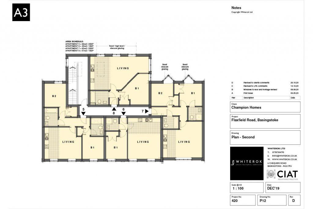 flaxfield road housing development 2nd Floor
