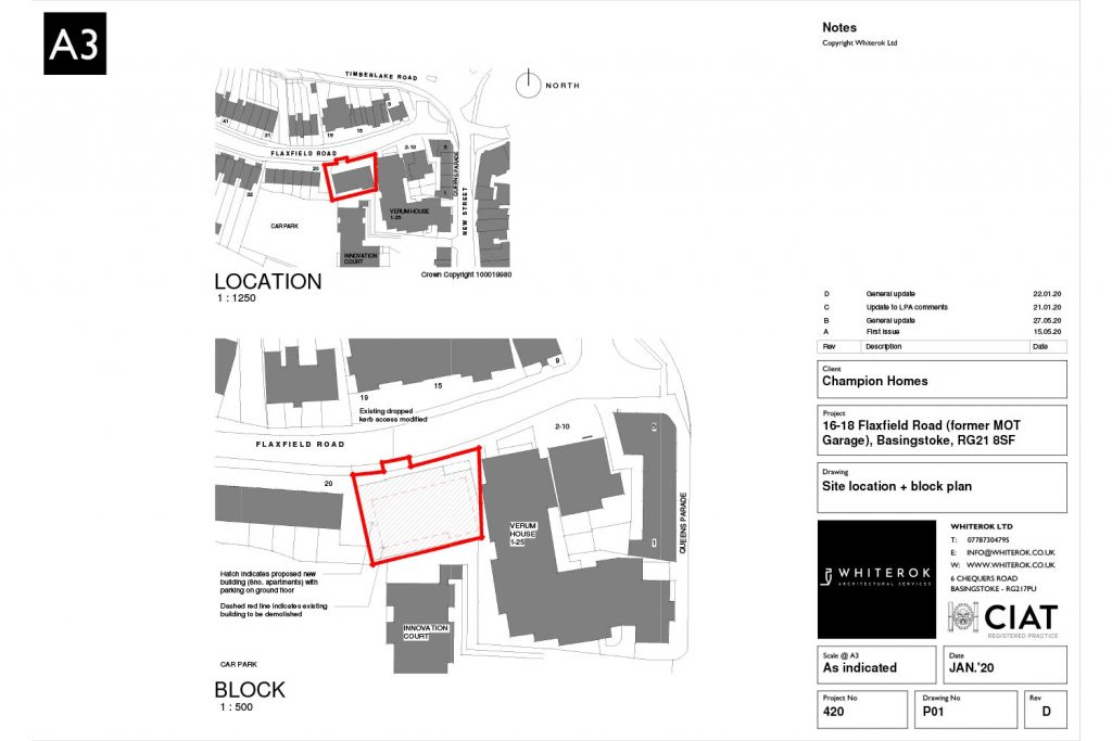 flaxfield road housing development location