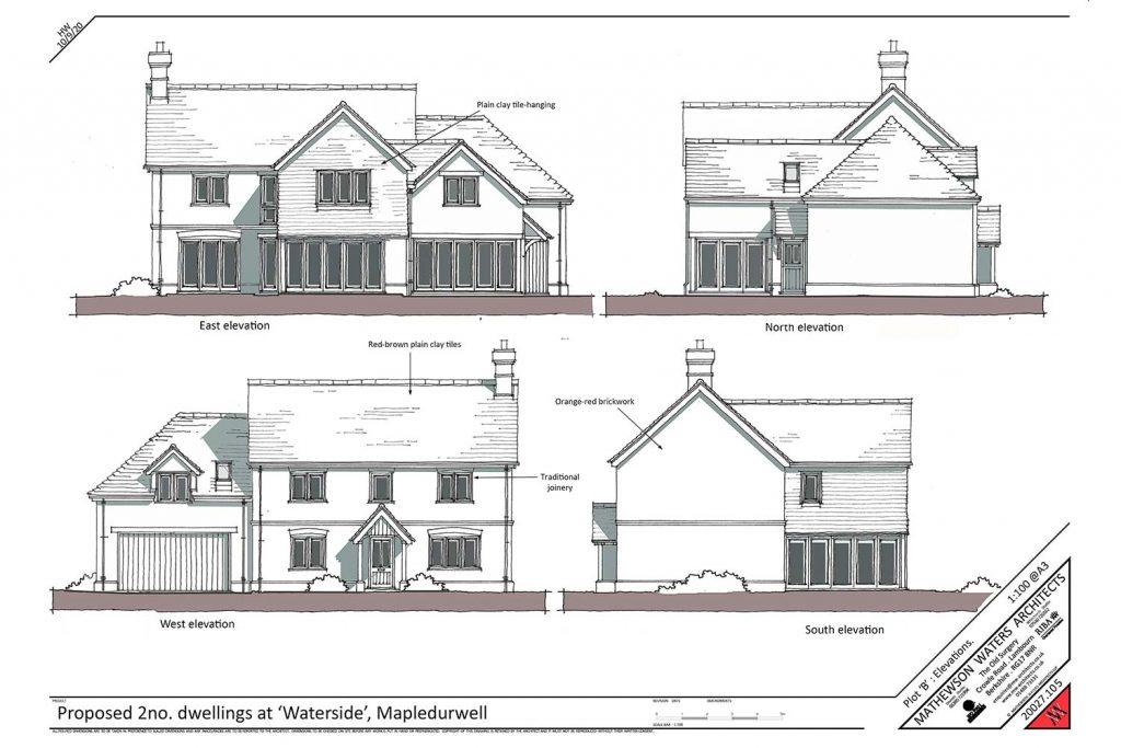 mapledurwell housing development plan